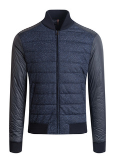 Bugatchi Quilted Wool Blend Jacket