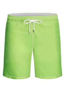 Bugatchi Solid Swim Trunks