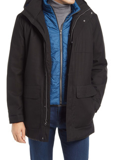 Bugatchi Water Resistant Hooded Parka