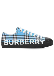 Burberry 20mm Larkhall Check Canvas Sneakers