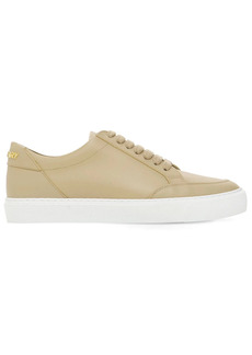 Burberry 20mm New Salmond Leather Sneakers