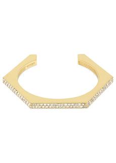Burberry Bolt Crystal Cuff Bracelet