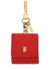 Burberry Earphone Grained Leather Case