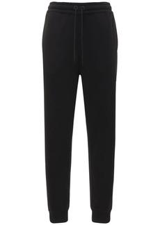 Burberry Esmee Jersey Sweatpants W/ Printed Logo
