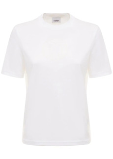 Burberry Jemma Logo Cotton Jersey T-shirt