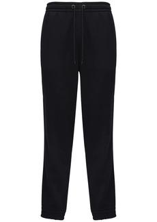 Burberry Logo Band Cotton Jersey Sweatpants