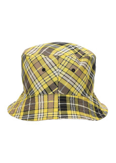 Burberry Reversible Check Wool Blend Bucket Hat