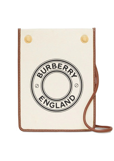 Burberry Small Canvas Flat Pouch