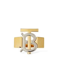 Burberry Tb Bicolor Logo Ring
