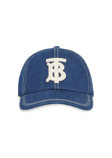 Burberry TB Denim Baseball Cap