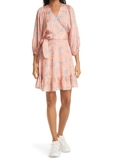 byTiMo Delicate Floral Wrap Dress
