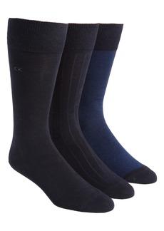 Calvin Klein 3-Pack Crew Socks