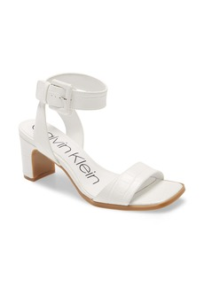 Calvin Klein Damita Ankle Strap Sandal (Women)