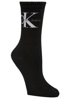 Calvin Klein Jeans Monogram Logo Crew Sock