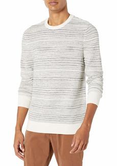Calvin Klein Men's Merino Sweater Crew Neck TOFU