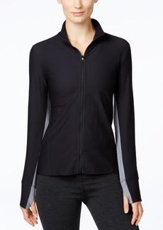 Calvin Klein Performance Honeycomb Zip-Front Jacket