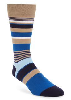 Calvin Klein Stripe Dress Socks