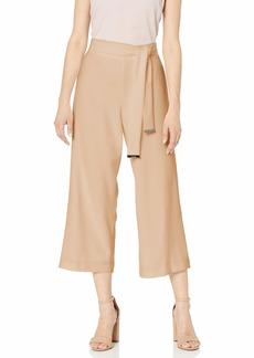 Calvin Klein Women's Culotte with Tie-Belt