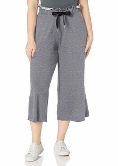 Calvin Klein Women's Plus Size Paper Bag Waist Culotte