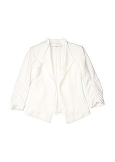 Calvin Klein Cinch Sleeve Flyaway Jacket