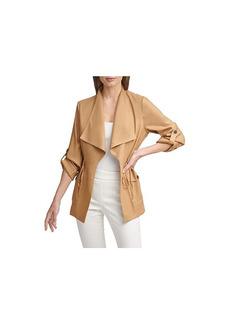 Calvin Klein Fly Away Cinch Waist Jacket