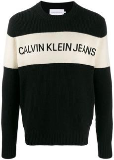 Calvin Klein Bae knitted logo jumper