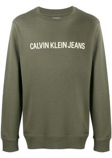 Calvin Klein long sleeve logo sweater