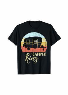Camper King Classy Sassy Smart Assy Matching Couple Camping T-Shirt