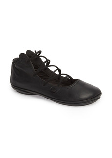Women's Camper Right Nina Mid Top Ghillie Flat