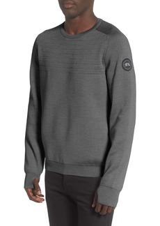 Canada Goose Black Label Conway Crewneck Merino Wool Blend Sweater