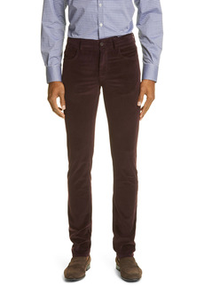 Canali Cotton Blend Men's Corduroy Pants