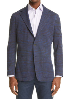 Canali Heathered Jersey Sport Coat