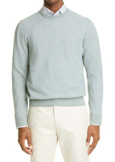 Canali Men's Mélange Crewneck Sweater