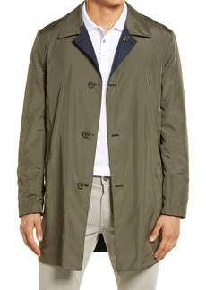 Canali Men's Reversible Lightweight Raincoat