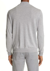 Canali Wool Men's Varsity Sweater