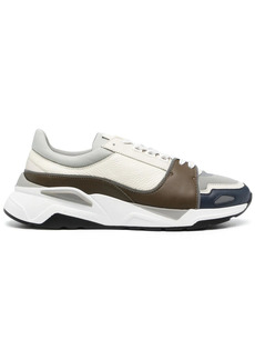 Canali low-top lace-up trainers