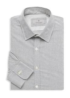 Canali Modern-Fit Graph Check Dress Shirt
