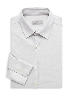 Canali Modern-Fit Spread Collar Dress Shirt