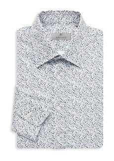 Canali Printed Dress Shirt
