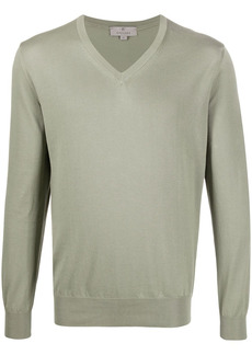 Canali relaxed fit jumper