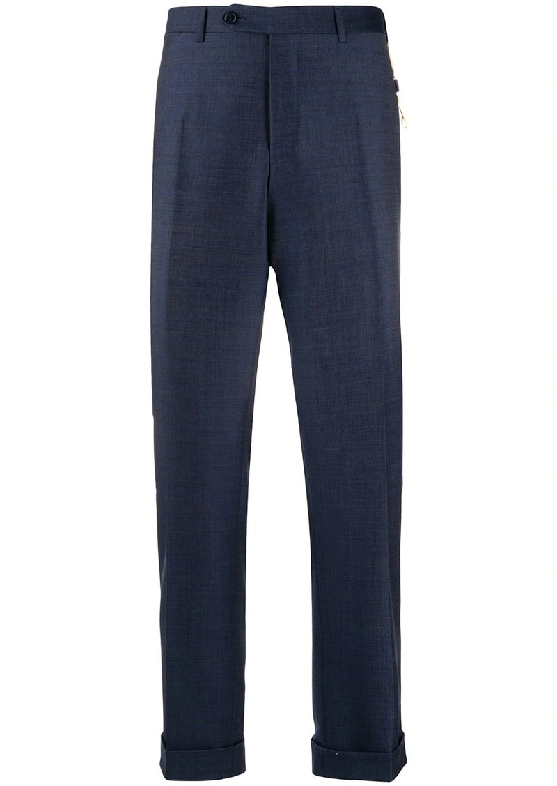 Canali slim-fit tailored trousers