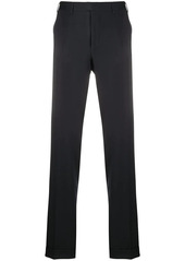 Canali straight-leg turn-up trousers