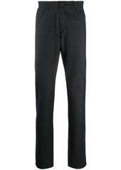 Canali straight leg wool trousers