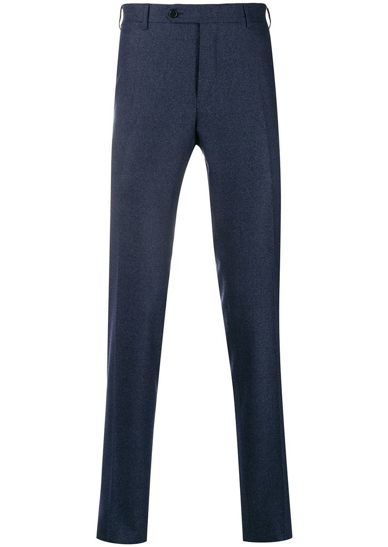 Canali tailored straight leg trousers
