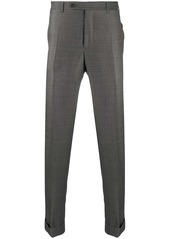 Canali tailored straight-leg trousers