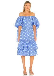 Caroline Constas Nella Midi Dress