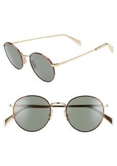 CELINE 50mm Round Sunglasses