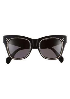 Celine 50mm Studded Sunglasses