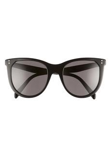 CELINE 53mm Cat Eye Sunglasses