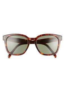 Celine Core 55mm Oversize Cateye Sunglasses